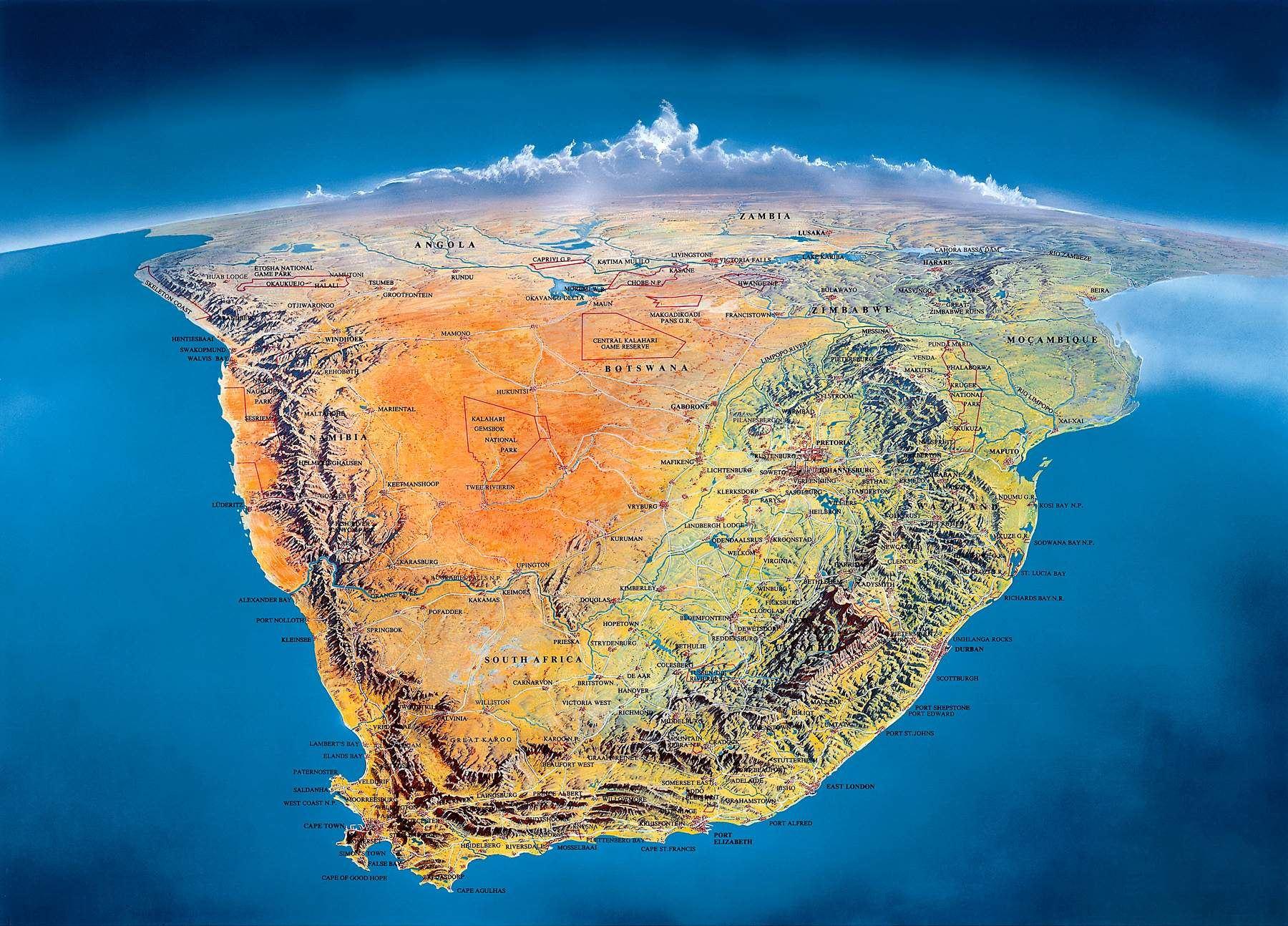 Extrêmement Préparer son voyage en Afrique du Sud | Blog voyage Afrique du Sud MR32